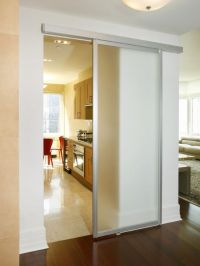 Contemporary Kitchen Barn Door Design, Pictures, Remodel ...