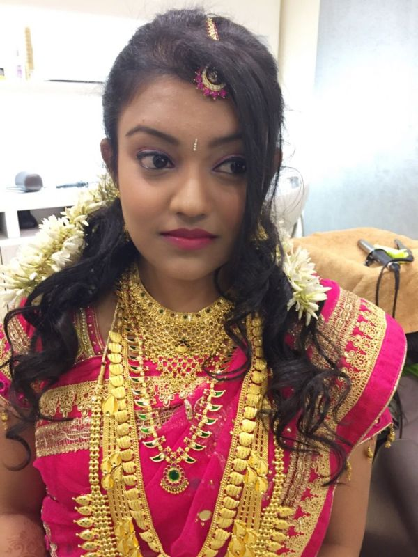 Kerala Hindu Bridal Hairstyle Photos The Mercedes Benz