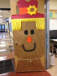 Bulletin Boards, Classroom Doors and Part 3 | Fall door ...