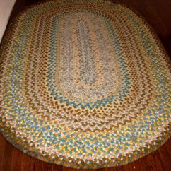 Braided Kitchen Rugs Table Decorations A Sneak Peek Of My Almost Finished Rug For