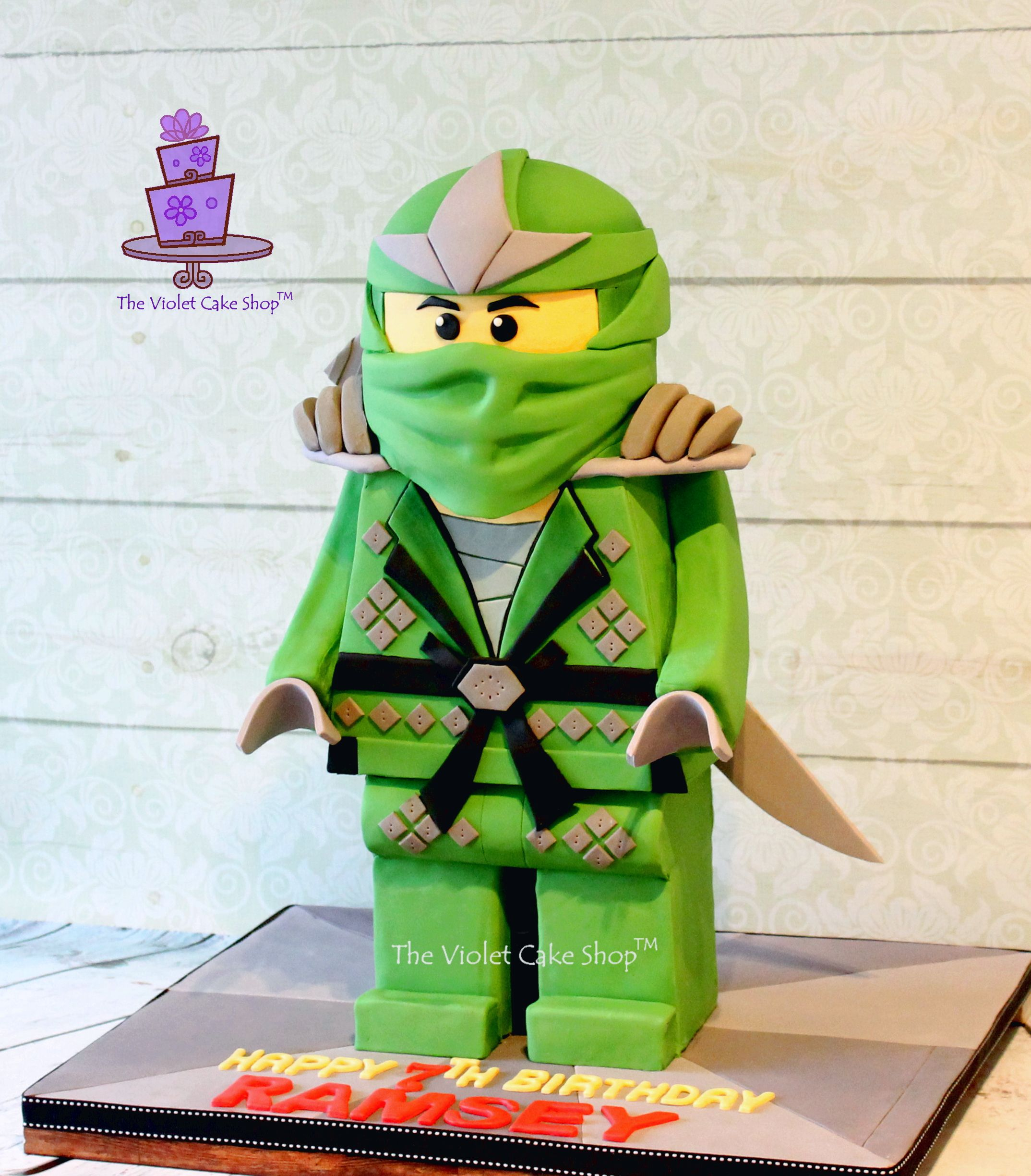 The Making Of A 3d Standing Lego Ninjago Cake