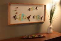 Mid Century / Danish Modern WITCO Styled Tiki Fish Wall