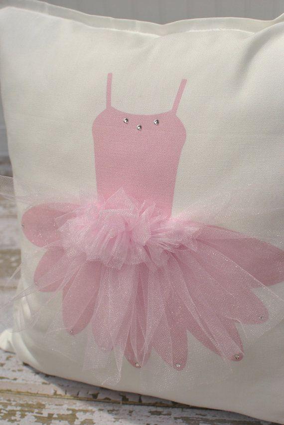 TUTU Ballerina Pillow Cover by MonMellDesigns on Etsy 3000  Coussin  Pinterest  Ballerina