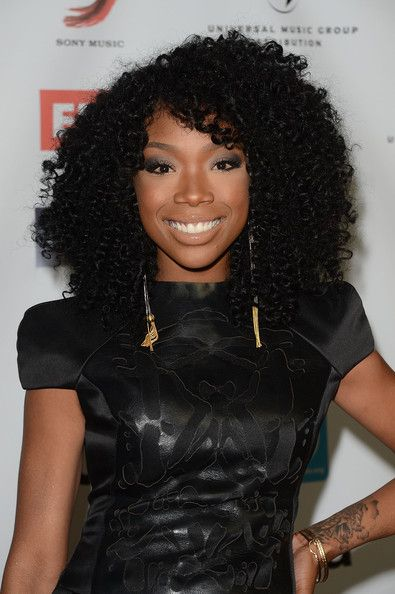 Brandy Weave Brandy Wears Tight Curly Hairstyle The Style News