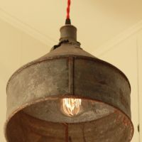 RESERVED for Jacquidowd - Rustic Lighting with Vintage ...