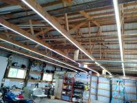 Inexpensive Garage Lights From LED Strips | Garage ...