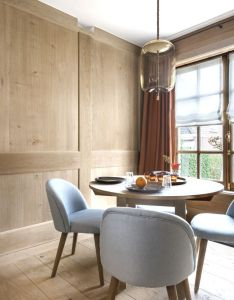 Panelled breakfast room lefevre interiors belgium also rh pinterest