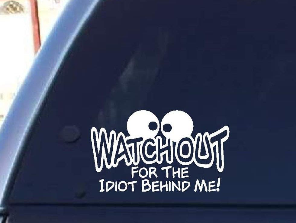 Funny Family Window Decal