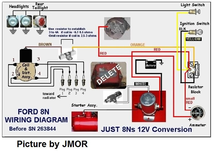 8n Ford Wiring Diagram Ford Wiring Diagram And Schematics