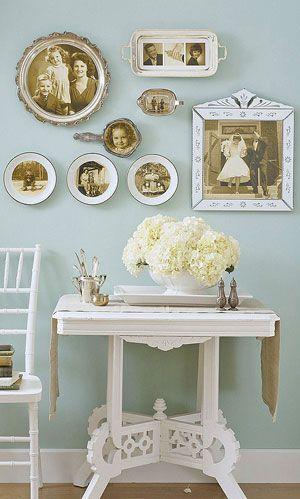 White Home Decor Shabby Chic Pinterest Cadres Café