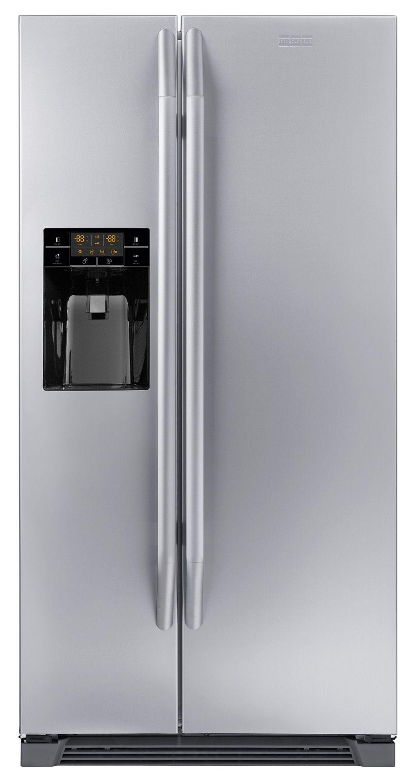 Side by side il frigorifero FSBS 6001 NF IWD XS A di Franke con volume di 604 litri ha