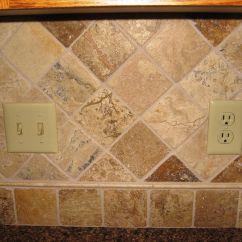 Kitchen Backsplash Patterns Island Stools For Sandstone Tile Stone Diamond