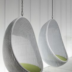 Swing Egg Chair Ikea Black Cushions Furniture Nice Looking White Woven Rattan Two Hanging