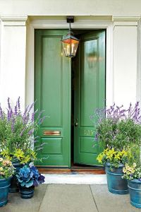 13 Bold Colors for Your Front Door | Green front doors ...