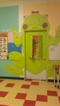 Science teacher frog dissection door decoration   Biology ...