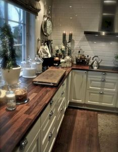 Cool awesome farmhouse kitchen design ideas pictures decoor also rh pinterest