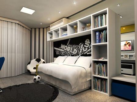 DORMITORIOS CHICOS VARONES JOVENCITOS  Deco Dormitorio