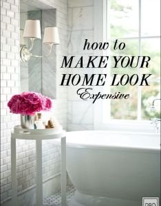 How to make your home look expensive sometimes you can afford professional staging services also black door house and decorating rh pinterest