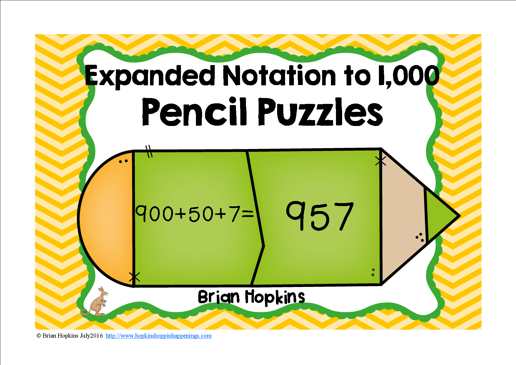 Expanded Notation To 1 000 Place Value Pencil Puzzles