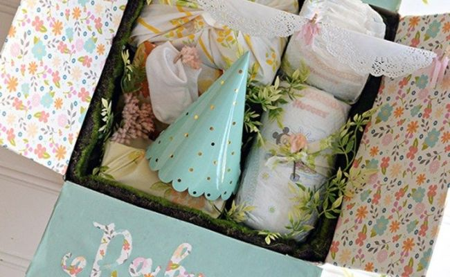 Baby Shower In A Box How To Make An Adorable Baby Shower