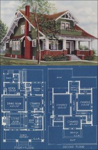 Chicago Bungalow House Plans