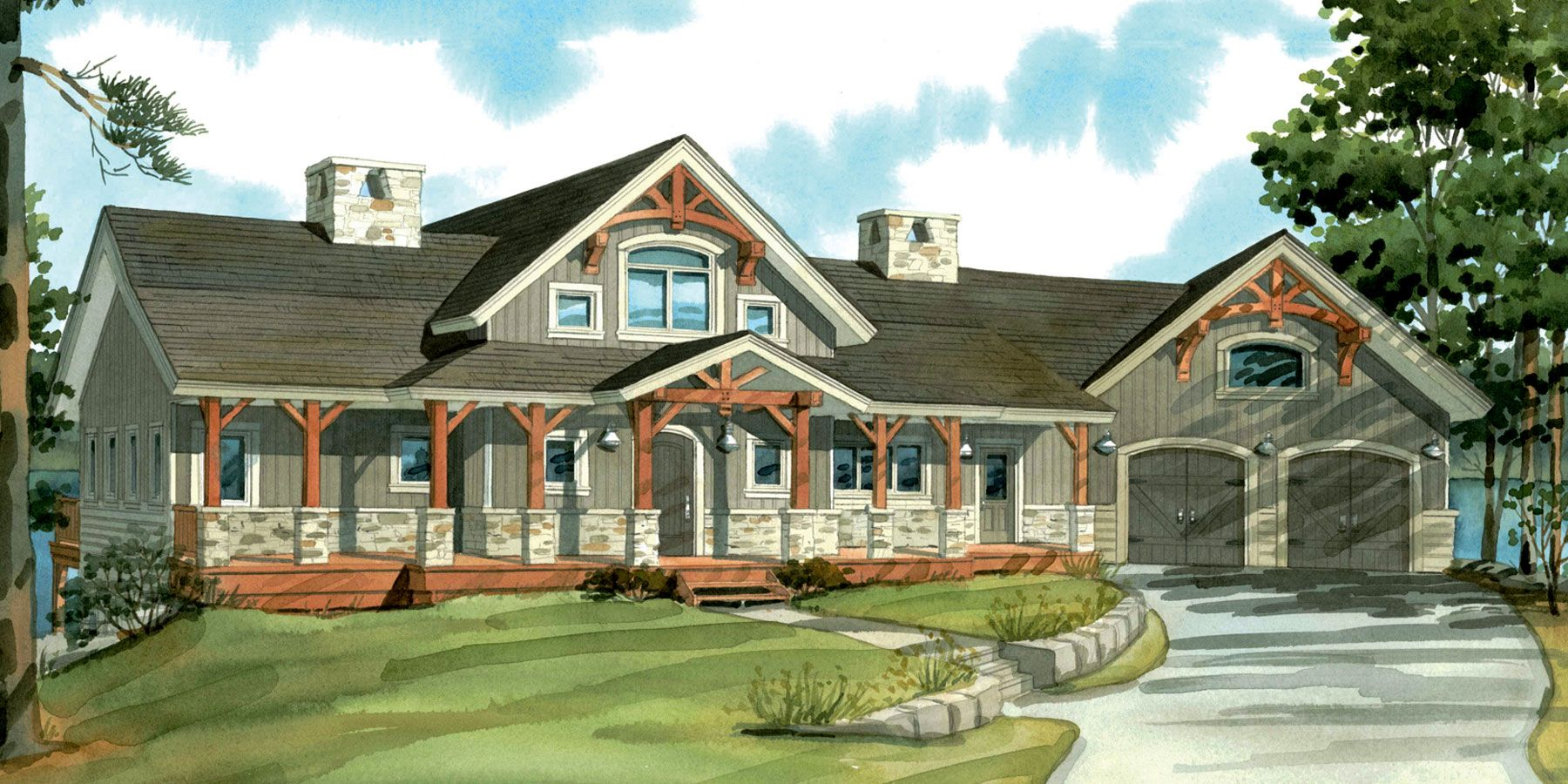 One Story House Plan With Cathedral Ceilings Top 10 Normerica