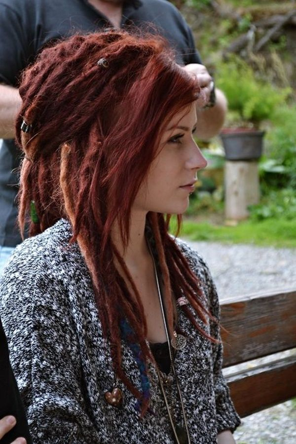 40 Adorable Hippie Hairstyles To Make You Look Cool Dreads Girl