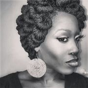 pipe cleaner loc updo. gorgeous