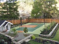 Sport Court Backyard Court | Kids Yard | Pinterest ...