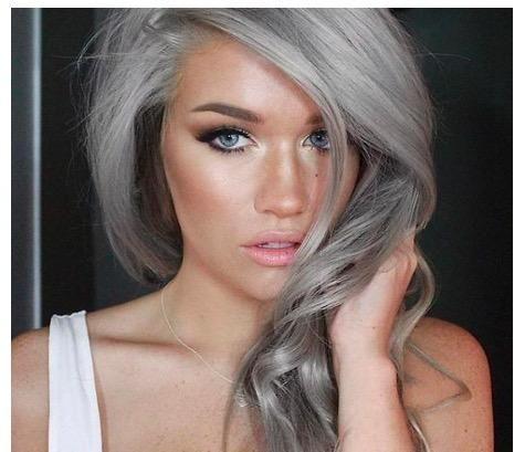 i m really loving the granny hair trend i ve always said once i start going gray i m gonna