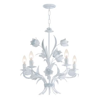 Southport 8 Light Wet White Finish Chandelier Ping Great Deals On Crystorama