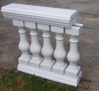 6 Piece Baluster & Railing Concrete Mold Set | Concrete ...