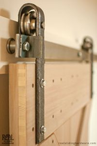 Hammered Barn Door Hardware Kit | Barn door hardware ...