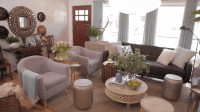 HGTV Spring House's Cozy Living Room  Check out this ...