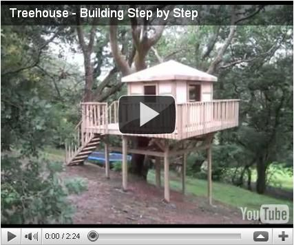 Tree House Plans Free Plans Outdoor Treehouse Wooden