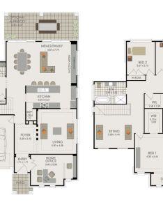 Double storey home designs trevelle homes also plans pinterest rh