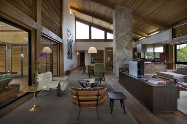 Interior Design Ideas Of Modern Contemporary Mountain House Design