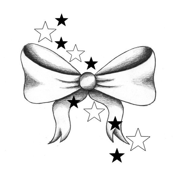 I want a bow tattoo... perhaps on the back of my neck