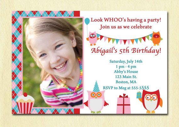 sample birthday invitation