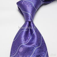 Neckties purple men's ties wedding ties striped ties dress