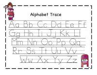ABC Tracing Sheets for Preschool Kids | Kiddo Shelter ...