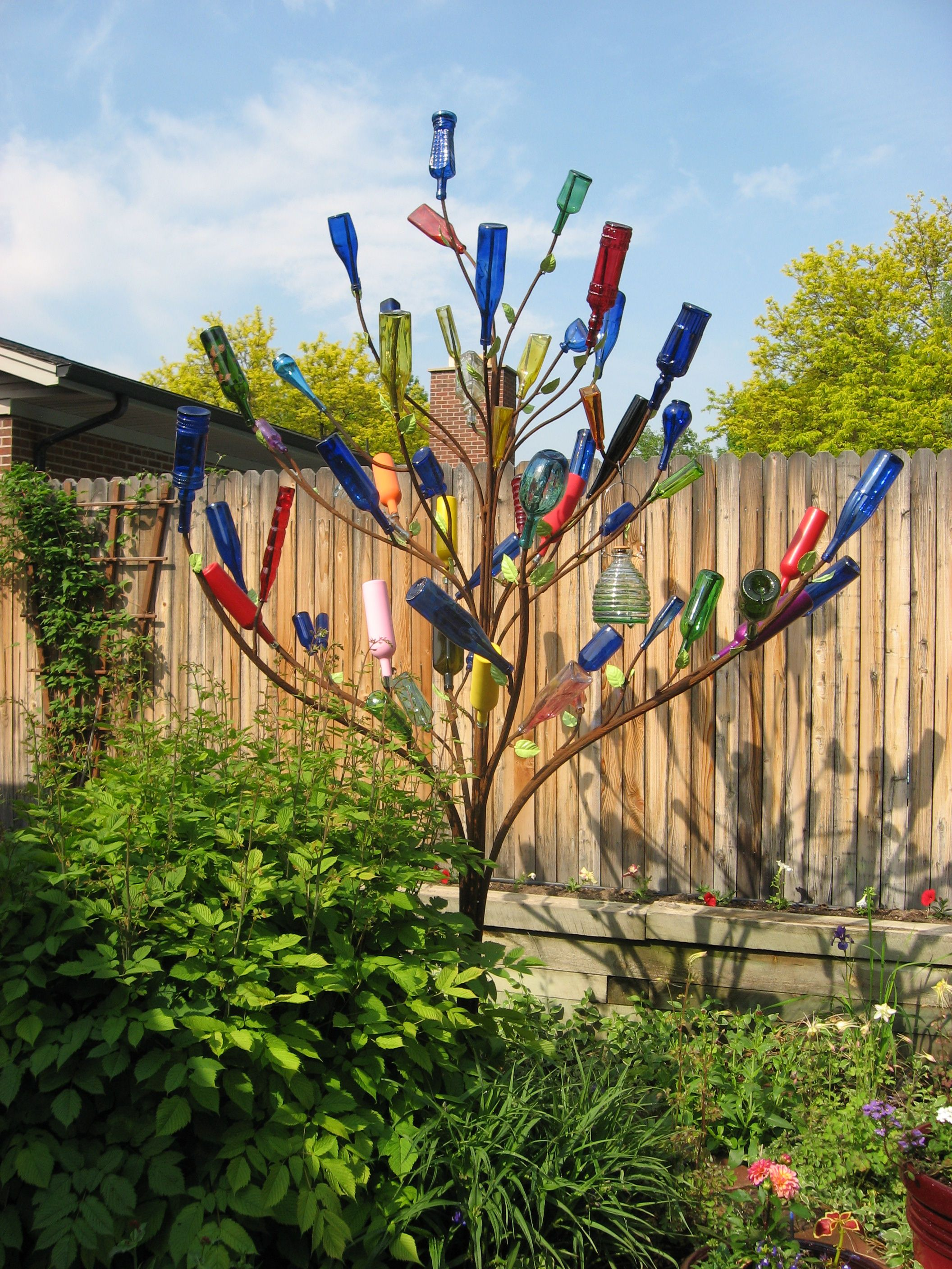 The History Of Bottle Trees Is Pretty Interesting Very