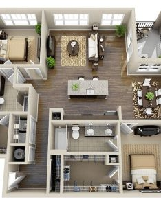 Amazing interior design awesome two bedroom apartment floor plans also model haus hauser pinterest apartments and  rh