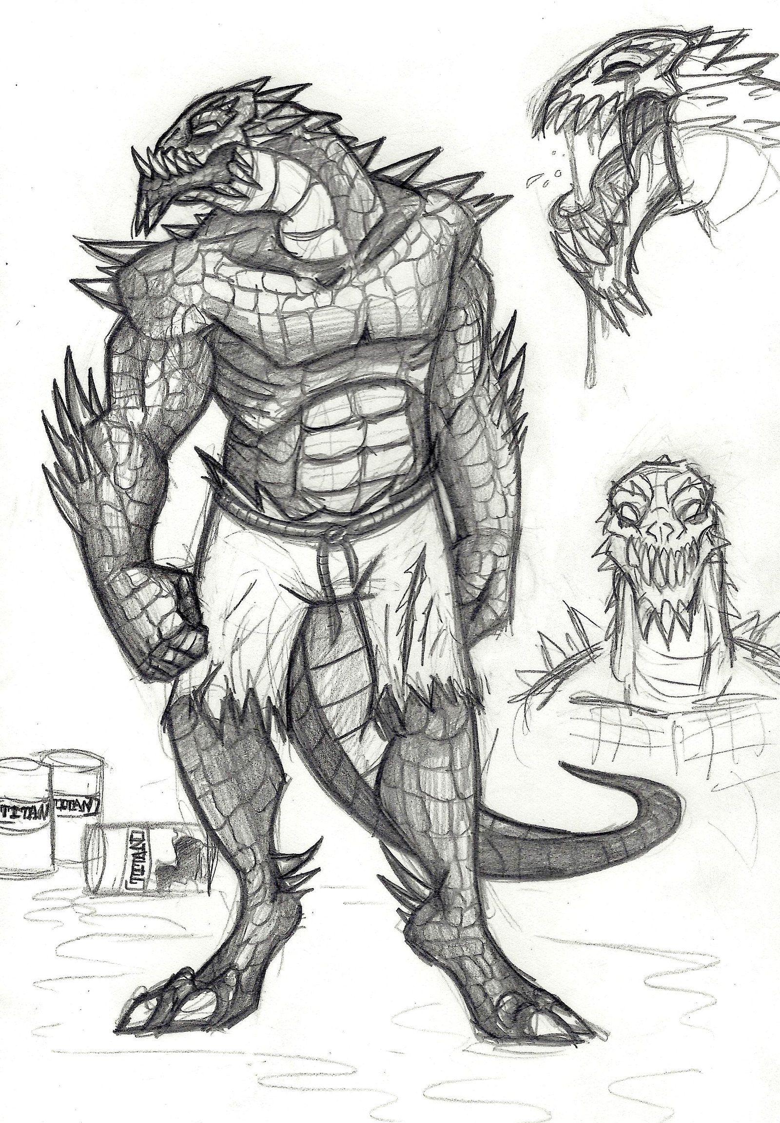 Image Result For Killer Croc Fan Art