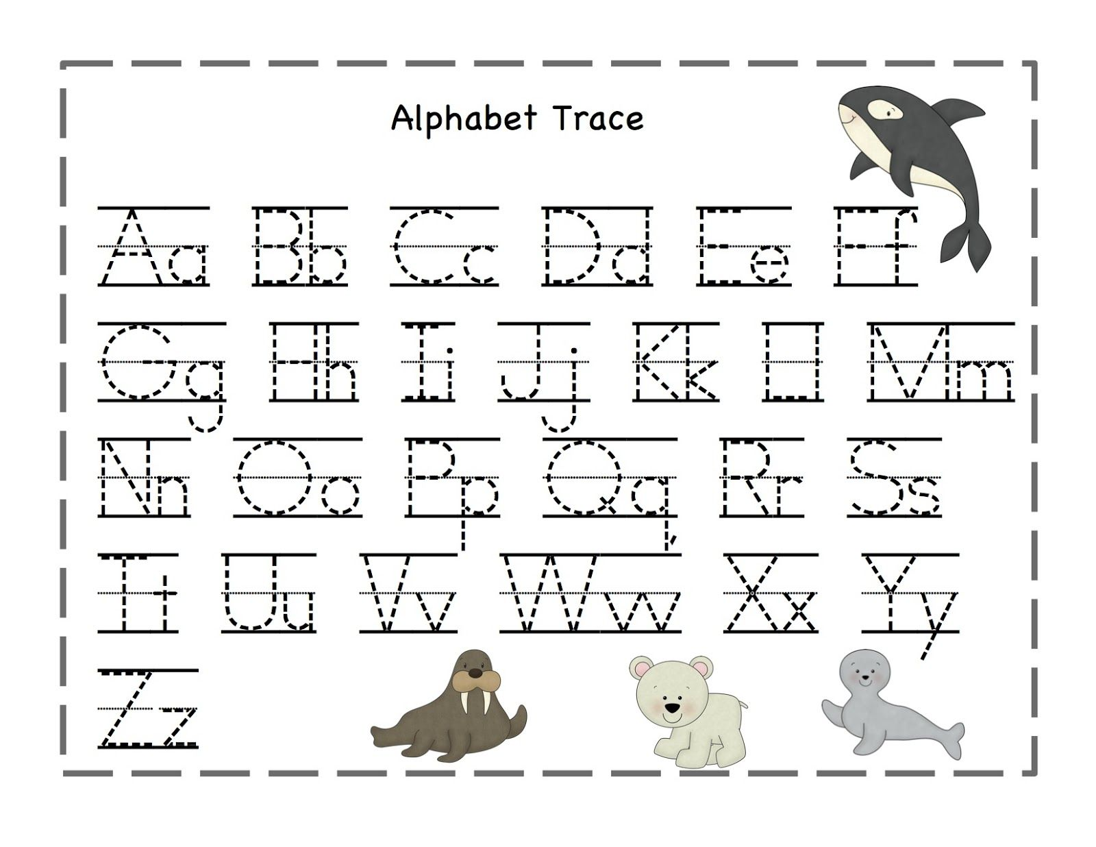 Preschool Printables Arctic Freeze Printable