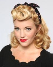 1940s rockabilly hairstyle latest