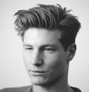 medium length men's hairstyles