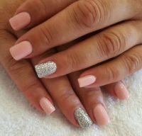 Beautiful short acrylic overlay | Odyssey Nails SA ...