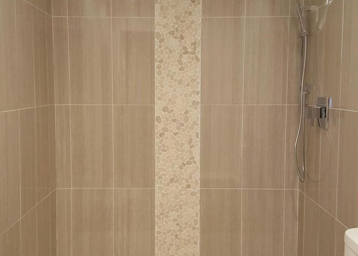 Sliced white pebble tile also pebbles tiles and luxury es
