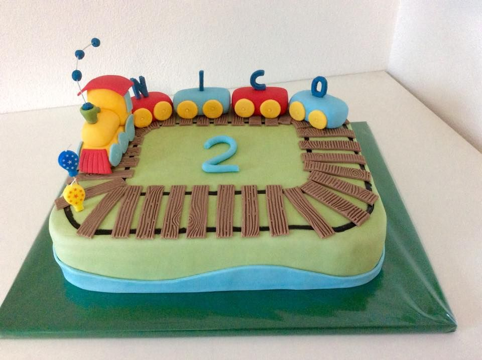 Zug Torte Eisenbahn Torte train cake  Birthday Cakes